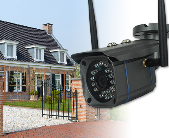 Full hd outdoor wifi ip-camera